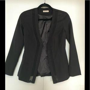 Makers of Dreams  Mesh inset Black Blazer
